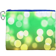 Soft Lights Bokeh 3 Canvas Cosmetic Bag (XXXL)