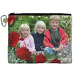 Little red Rose Canvas Cosmetic Bag (XXL)