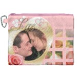My Heart Canvas Cosmetic Bag (XXL)