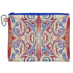 Symbols Pattern Canvas Cosmetic Bag (xxl) by Cveti