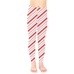 Candy Cane Stripes Kids  Legging