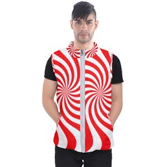 Peppermint Candy Men s Puffer Vest