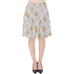 Gingerbread Light Velvet High Waist Skirt by jumpercat