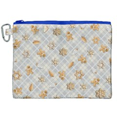 Gingerbread Light Canvas Cosmetic Bag (xxl) by jumpercat