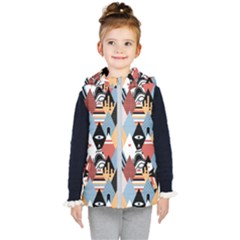 Abstract Diamond Pattern Kid s Puffer Vest by allthingseveryday