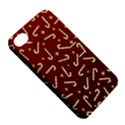 Golden Candycane Red Apple iPhone 4/4S Hardshell Case with Stand View5