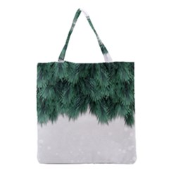 Snow And Tree Grocery Tote Bag by jumpercat