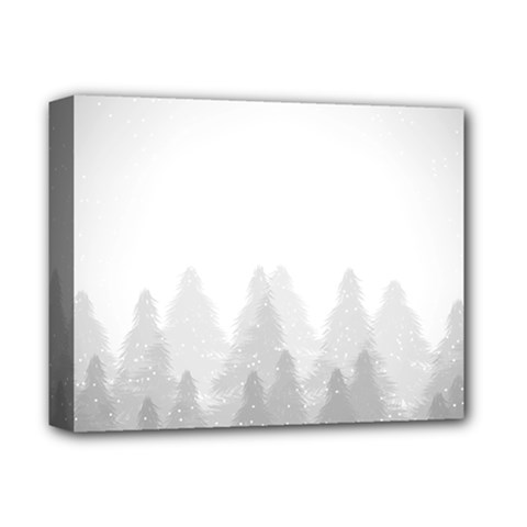 Winter Land Light Deluxe Canvas 14  X 11  by jumpercat