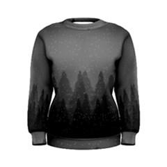 Winter Land Dark Women s Sweatshirt