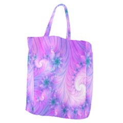 Delicate Giant Grocery Zipper Tote by Delasel