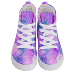Delicate Kid s Hi Top Skate Sneakers