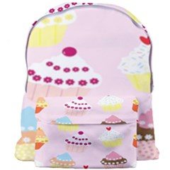 Cupcakes Wallpaper Paper Background Giant Full Print Backpack by Celenk