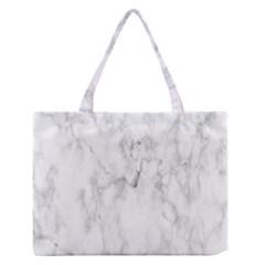 White Background Pattern Tile Zipper Medium Tote Bag by Celenk