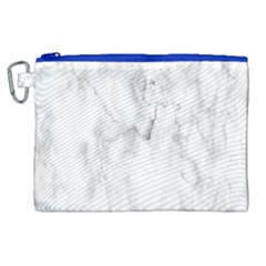 White Background Pattern Tile Canvas Cosmetic Bag (xl)