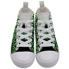Tech Camouflage 2 Kid s Mid Top Canvas Sneakers