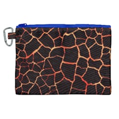 Magma Canvas Cosmetic Bag (xl) by jumpercat