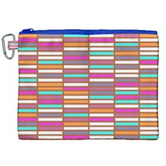 Color Grid 02 Canvas Cosmetic Bag (xxl) by jumpercat