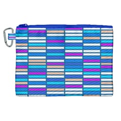 Color Grid 04 Canvas Cosmetic Bag (xl) by jumpercat