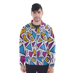 Retro Shapes 01 Wind Breaker (men)