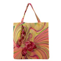 Arrangement Butterfly Aesthetics Grocery Tote Bag by Celenk