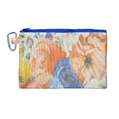 Texture Fabric Textile Detail Canvas Cosmetic Bag (large) by Celenk