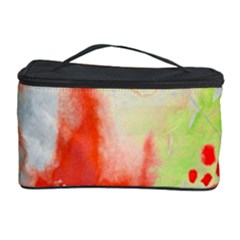 Fabric Texture Softness Textile Cosmetic Storage Case by Celenk