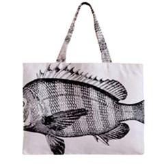 Animal Fish Ocean Sea Zipper Mini Tote Bag by Celenk