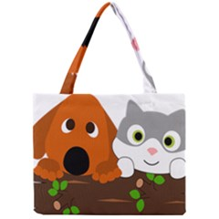 Baby Decoration Cat Dog Stuff Mini Tote Bag by Celenk
