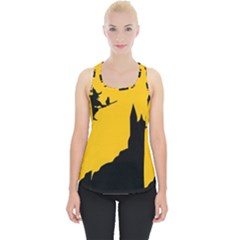 Castle Cat Evil Female Fictional Piece Up Tank Top