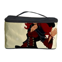 Witch Witchcraft Broomstick Broom Cosmetic Storage Case by Celenk