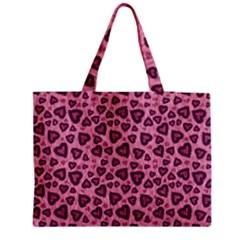 Leopard Heart 03 Medium Tote Bag by jumpercat