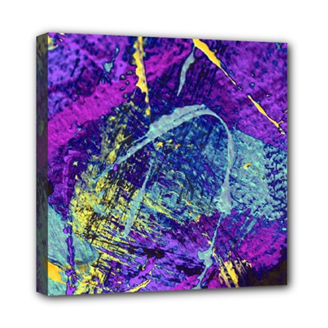 Ink Splash 01 Mini Canvas 8  X 8  by jumpercat