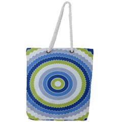 Oracle 01 Full Print Rope Handle Tote (large) by jumpercat