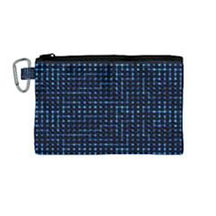Sci Fi Tech Circuit Canvas Cosmetic Bag (medium) by jumpercat