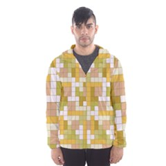 Tetris Camouflage Desert Hooded Wind Breaker (men) by jumpercat