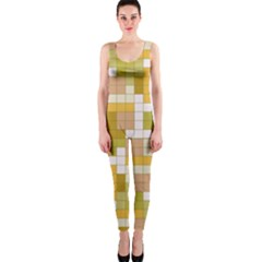 Tetris Camouflage Desert Onepiece Catsuit by jumpercat