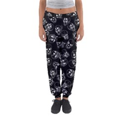 A Lot Of Skulls Black Women s Jogger Sweatpants by jumpercat