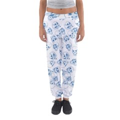 A Lot Of Skulls Blue Women s Jogger Sweatpants by jumpercat