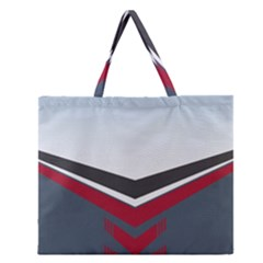 Modern Shapes Zipper Large Tote Bag by jumpercat