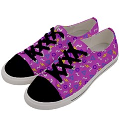 Retro Wave 2 Men s Low Top Canvas Sneakers by jumpercat