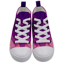 Tri 01 Kid s Mid Top Canvas Sneakers