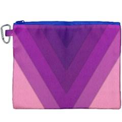 Tri 01 Canvas Cosmetic Bag (xxxl) by jumpercat