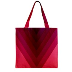 Tri 02 Grocery Tote Bag by jumpercat