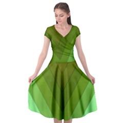 Tri 03 Cap Sleeve Wrap Front Dress by jumpercat