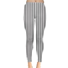 Basic Vertical Stripes Leggings  by jumpercat