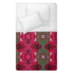 Christmas Colors Wrapping Paper Design Duvet Cover (single Size)