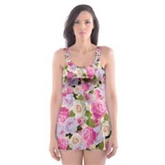 Gardenia Sweet Skater Dress Swimsuit by jumpercat