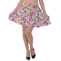 Gardenia Sweet Velvet Skater Skirt by jumpercat