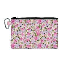 Gardenia Sweet Canvas Cosmetic Bag (medium) by jumpercat