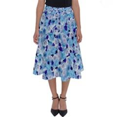 Gardenia Cold Perfect Length Midi Skirt by jumpercat